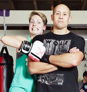 Get Boxing Coach Marc Slater