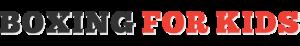 Boxing For Kids Logo